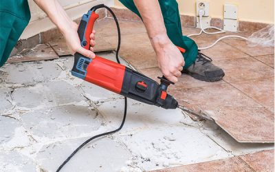 How Does Removal Service For Tiles Help In Dust-free Renovation Or Demolition?