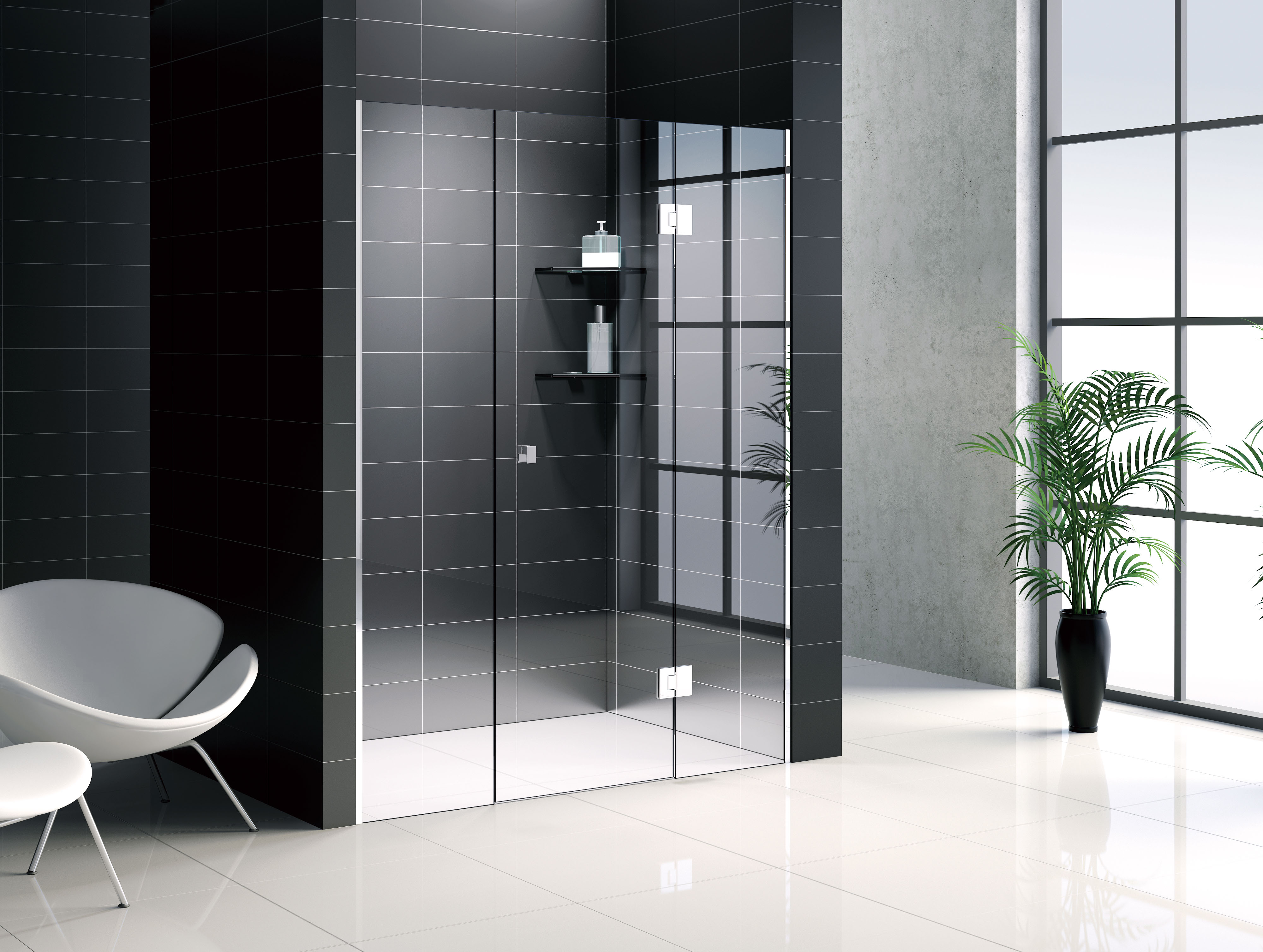 Features and Advantages of a Glass Shower Screen