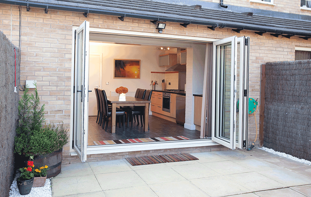 Finessed Folding Doors in Perth