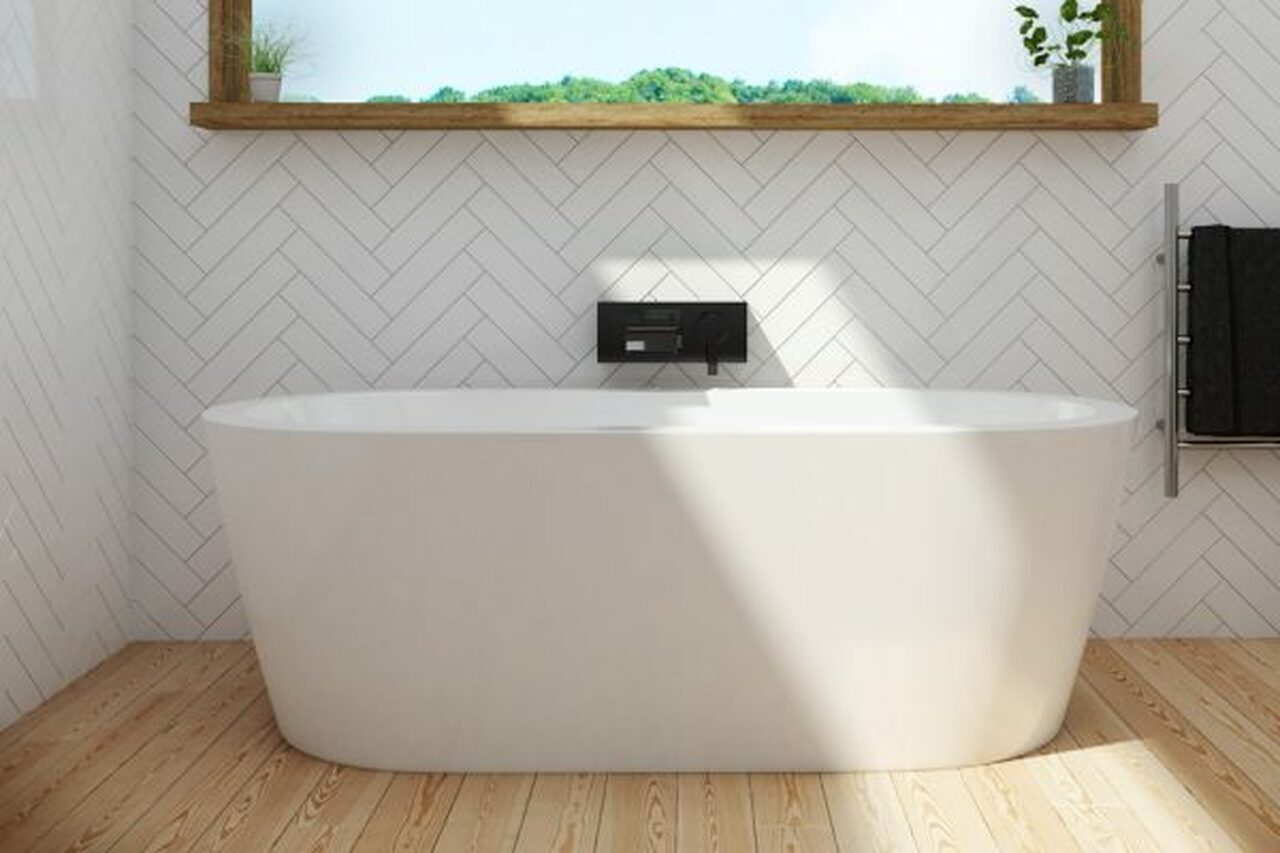 Is It Possible To Add A Free-standing Bath In A Small Bathroom?