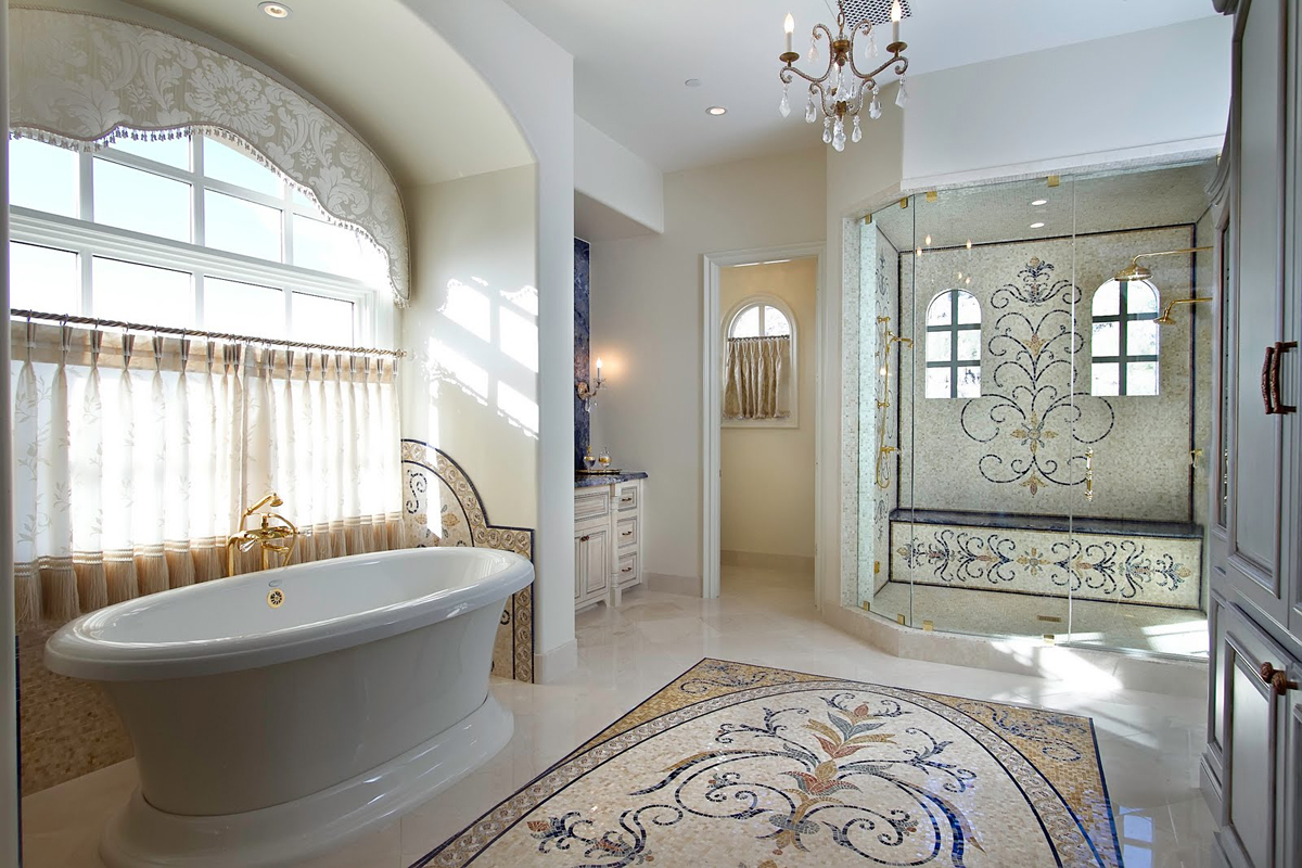 Advantages Of Using Feature Tiles In Bathroom